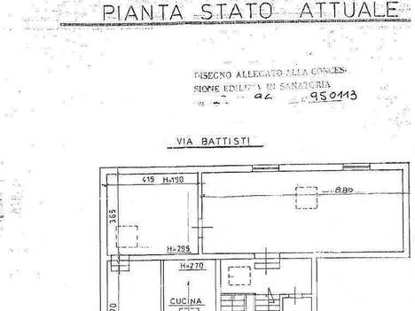 casa via C. Battisti, 31 COLLESALVETTI